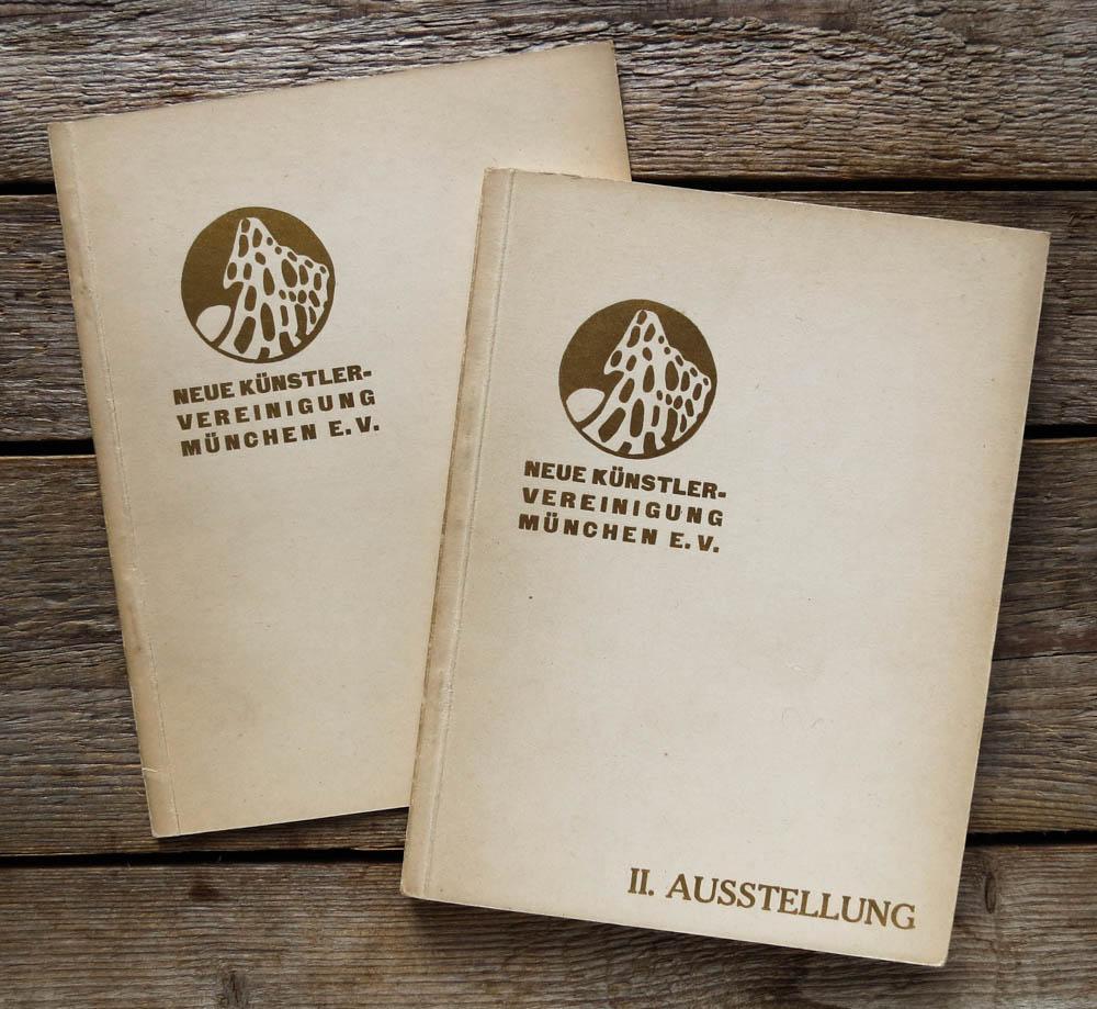 2 Kataloge zu der ersten und zweiten: Jawlensky, Kandinsky, Münter,