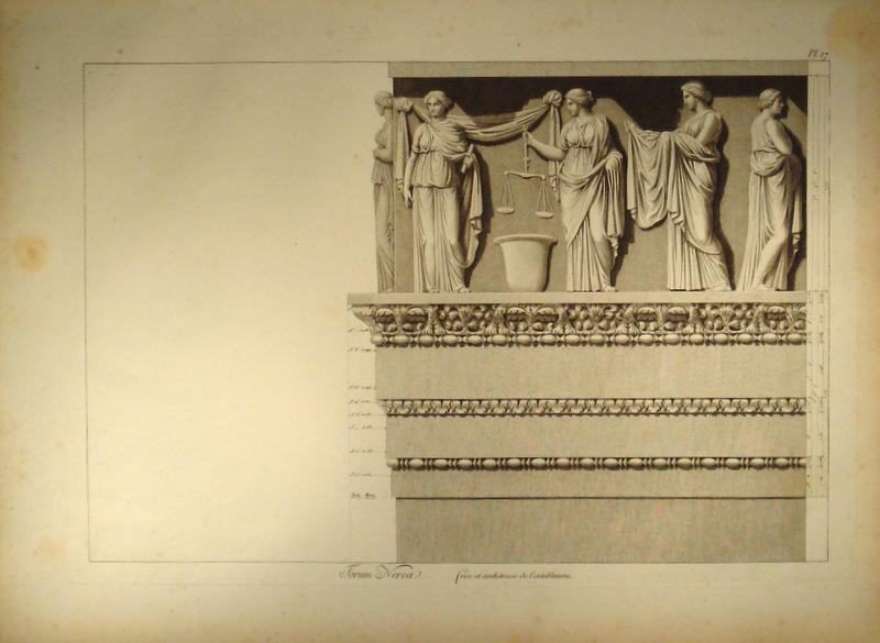 Fries Architektur ornament architektur antike fries nervaforum zvab