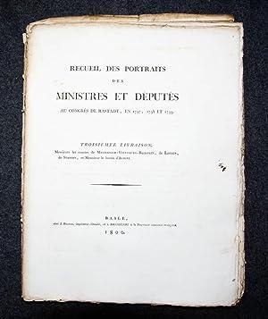 Recueil des portraits des ministres et députés: Rastatter Kongress, 24