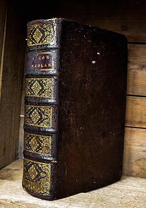 Lexicon Graecolatinum recens constructum. In quod, tanquam: Graeca, Greek dictionary