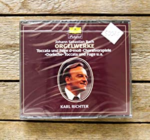 Orgelwerke - Karl Richter. 2 CDs.