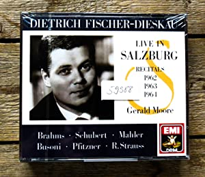 Live in Salzburg. Recitals 1962, 1963 & 1964. 3 CDs.