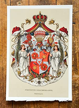 Schaumburg Lippe Kunst Grafik Poster Zvab