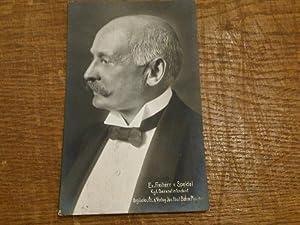 Original-Photographie von Jos. Paul Böhm in München, mit handschriftlicher Widmung von Speidel.: ...