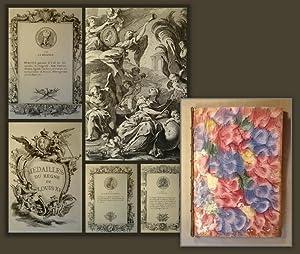 Medailles du regne de Louis XV.: Medaillen, Numismatik, Louis