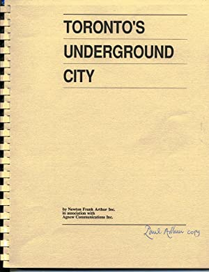 Toronto's Underground City. A study to determine the feasibility of installing a uniform wayfindi...