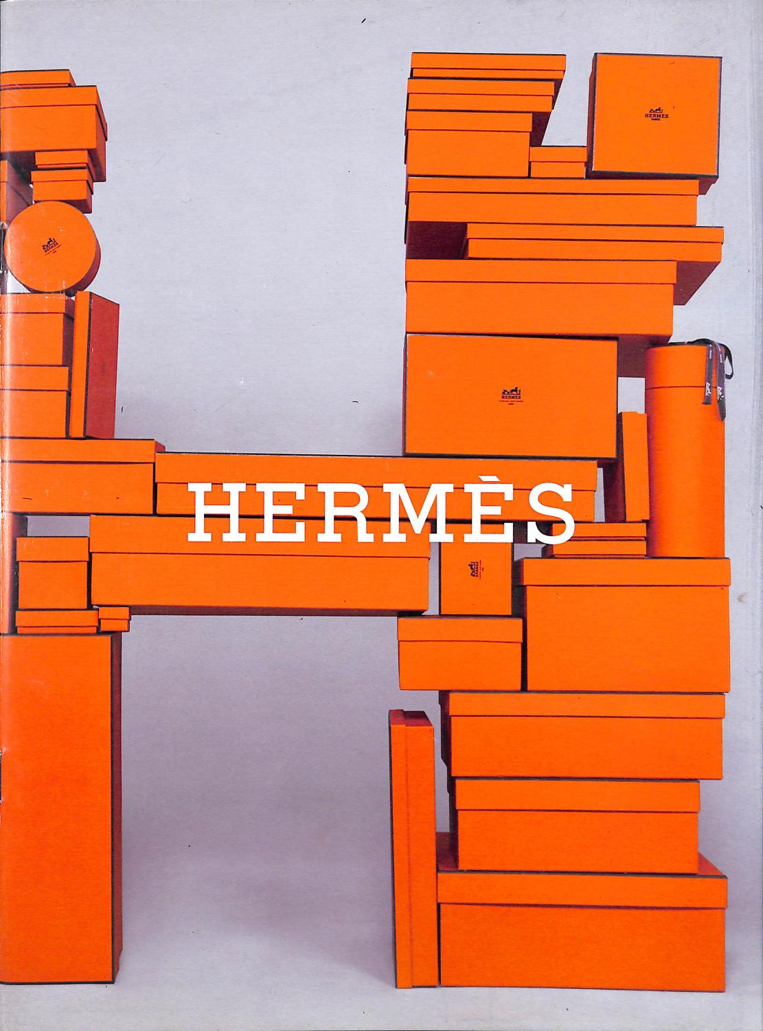 Hermes Fab Hermes trade catalogue featuring (99) lots of chic product since ensconced w/ a custom glassine cover!~