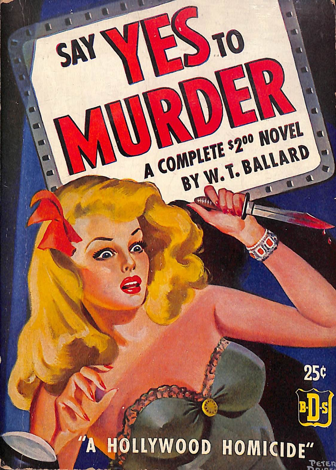 Say Yes To Murder W.T. Ballard Willis Todhunter (W. T.) Ballard was an American author, known for his Westerns and mystery stories, novelettes, and book-length novels. A tremendousl