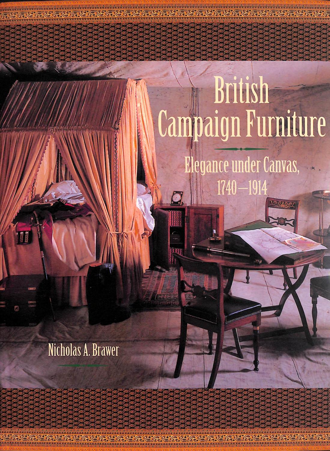 British Campaign Furniture By Nicholas A Brawer The Cary Collection
