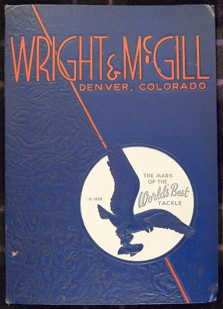 Wright & McGill Fishing Tackle Salesman Sample Folio