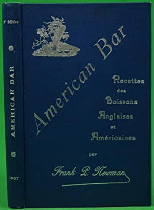 American Bar- Boissons Anglaises & Americaines