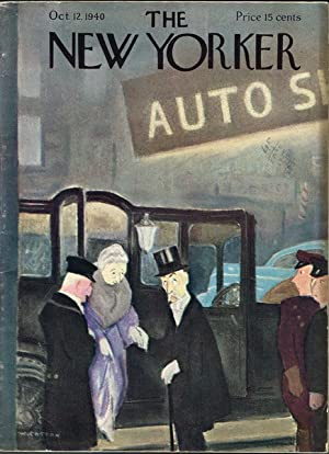 The New Yorker Oct. 12, 1940