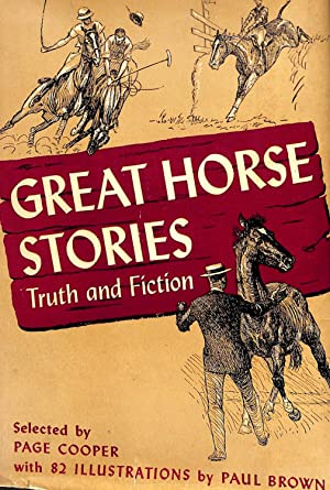 Great Horse Stories Truth And Fiction: Page Cooper