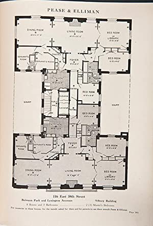 Pease & Elliman's Catalogue of East Side of New York Apartment Plans: Blaisdell, A.G. (...