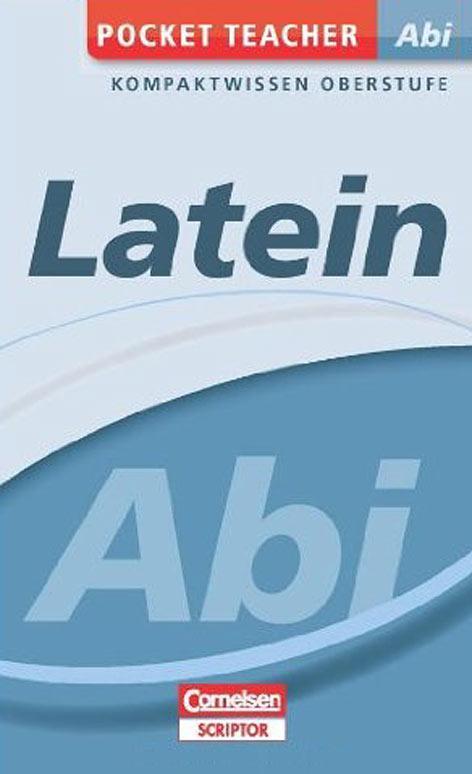 Abitur Latein - Pocket Teacher