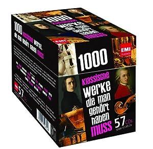 1000 klassische Werke, die man gehört haben muss 57 CDs