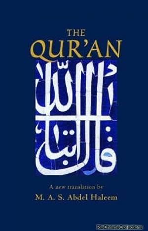 Qur'an 9780192805485: Muhammad Abdel Haleem
