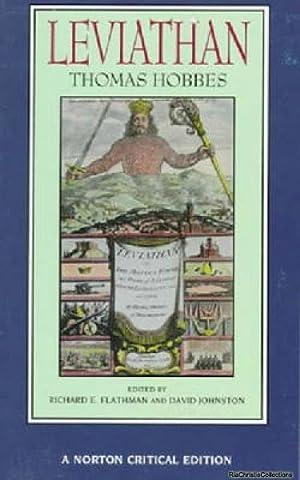 Leviathan 9780393967982: Thomas Hobbes, Richard
