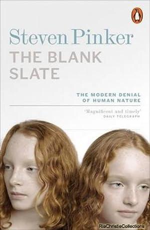 Blank Slate: Steven Pinker
