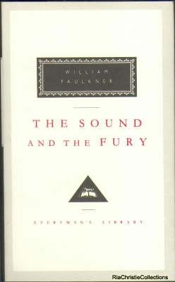 an examination of the plot of the sound and the fury by william faulkner The sound and the fury item preview dsc02350jpg grace in the writings of william faulkner mar 21, 2016 03/16 by hockensmith, david a texts.
