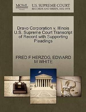Dravo Corporation v. Illinois U.S. Supreme Court: HERZOG, FRED F