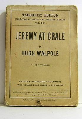Jeremy at Crale: Walpole, Hugh