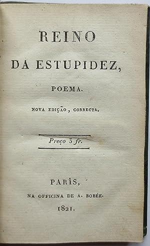 Reino da estupidez, poema. Nova edição, correcta.: FRANCO, Francisco de Mello].