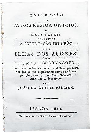 Collecção de avisos regios, officios, e mais: RIBEIRO, João da