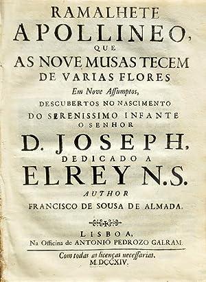 Ramalhete apollineo, que as nove musas tecem: ALMADA, Francisco de