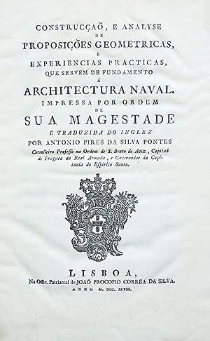 Construcção, e analyse de proposições geometricas, e: ATWOOD, George].