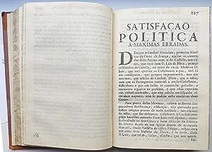 Obras do Doutor Duarte Ribeiro de Macedo . offerecidas ao . D. Jozé Miguel Joam de Portugal,...