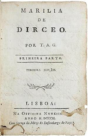 Marília de Dirceo. Por T.A.G.: GONZAGA, Tomás António].