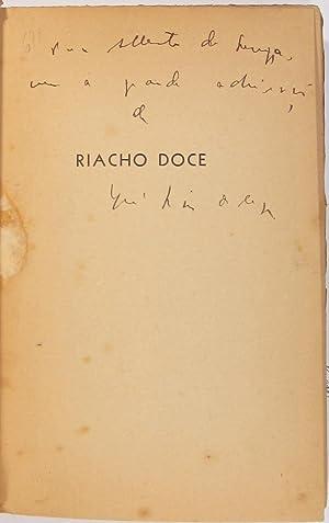 Riacho Doce, romance.: REGO, José Lins