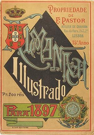 Almanach illustrado para 1897. Propriedade de F[rancisco]