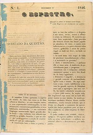 O Espectro. Nos. 1-63 and 8 (of: SAMPAIO, Antonio Rodrigues.]