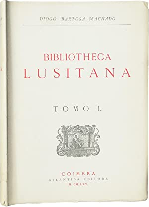 Bibliotheca lusitana.: MACHADO, Diogo Barbosa.