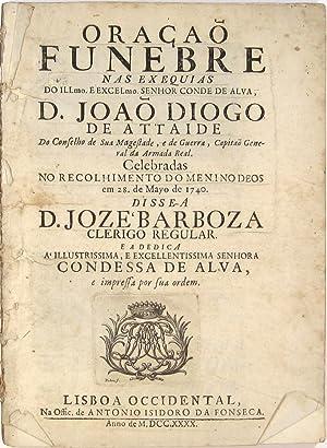 Oração funebre nas exequias do Illmo. e: BARBOSA, José.