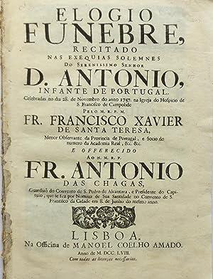 Elogio Funebre, recitado nas exequias solemnes do: SANTA TERESA, Fray