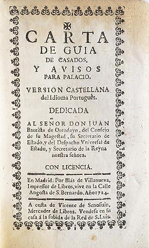 Carta de guia de casados, y avisos: MELLO, D. Francisco