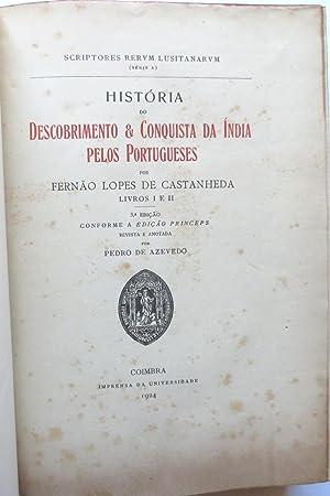 História & conquista da Índia pelos Portugueses.: CASTANHEDA, Fernão Lopes