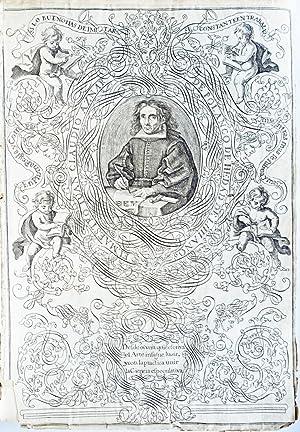 Arte nuevo de escribir por preceptos geometricos, y reglas mathematicas .: AZNAR DE POLANCO, Juan ...