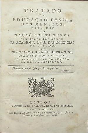 Tratado da educação fysica dos meninos, para: FRANCO, Francisco de