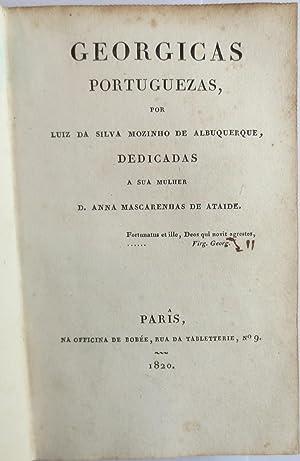 Georgicas portuguezas, por Luiz da Silva Mozinho: ALBUQUERQUE, Luís da