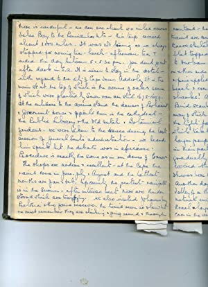 Manuscript journal of a South African lady, returning after many years in England, including an ...