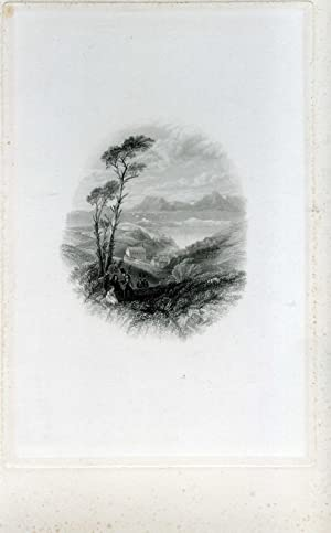 Proof engraving on India paper of 'Bantry: Samuel Fisher (c.1802-1855),