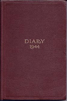Manuscript diary for the year 1944 by an English army officer ('H. E. Nash?') in the 23rd...