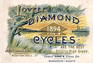 Lovell Diamond Cycles. 1894 .: Catalogue - Bicycles].