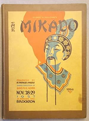 Vocal Score of the Mikado; or the: Gilbert, W. S.