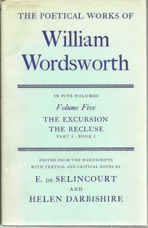 Poetical Works of William Wordsworth: Volume Five,: Wordsworth, William [