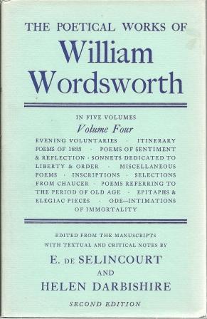 The Poetical Works of William Wordsworth: Volume: Wordsworth, William [